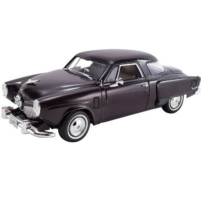 1951 Studebaker Champion Black Cherry Limited Edition to 500 pieces Worldwide 1/18 Diecast Model Car by ACME