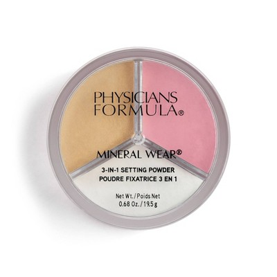 Physicians Formula Mineral Wear 3-In-1 Loose Setting Powder - 0.68oz