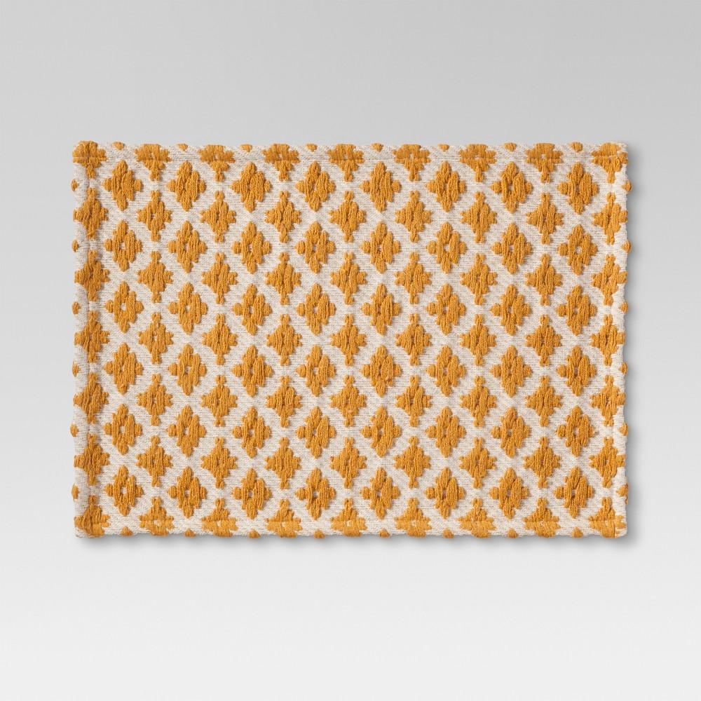 Yellow Diamond Placemat - Threshold