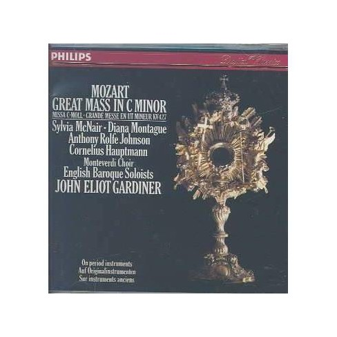 Mozart - Mozart:Great Mass in C Minor (CD) - image 1 of 1