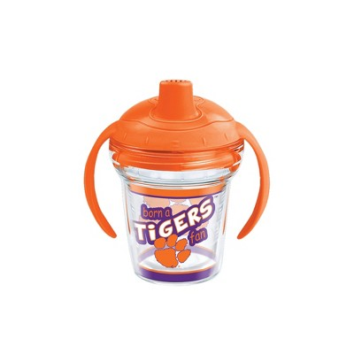 Tervis Clemson Tigers Born A Fan 6oz Sippy Cup with Lid