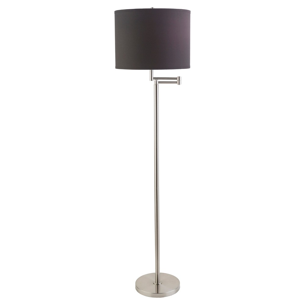 Biro Floor Lamp - Silver (Lamp Only)