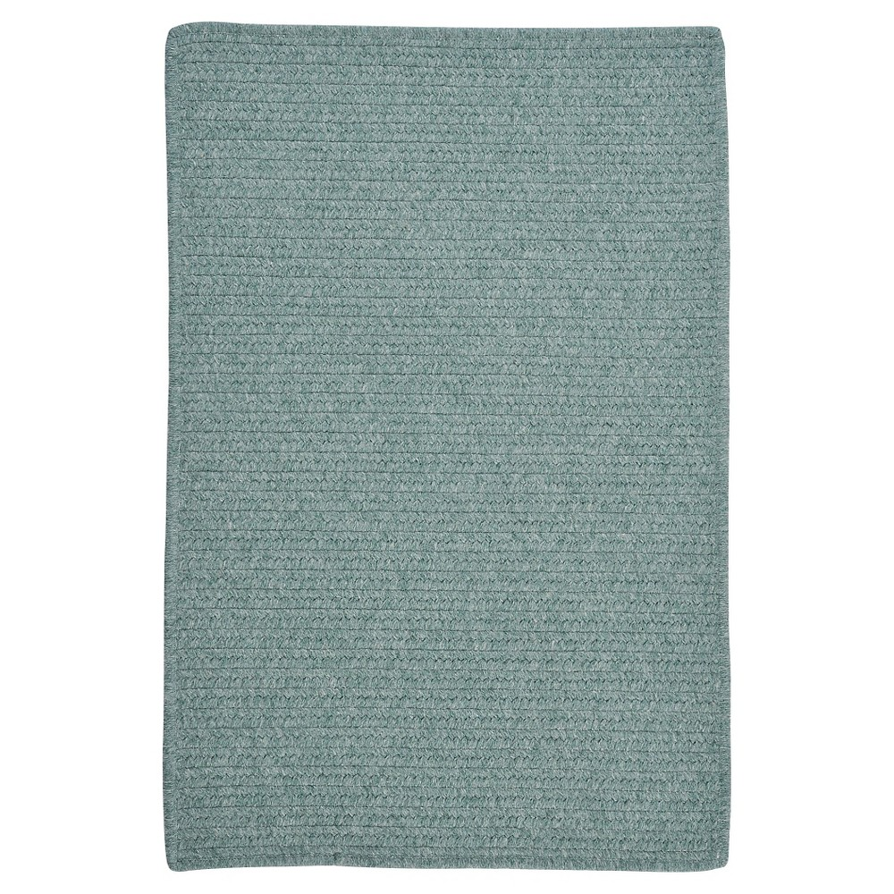 Westminster Wool Blend Braided Area Rug - Teal (Blue) - (5'x8') - Colonial Mills