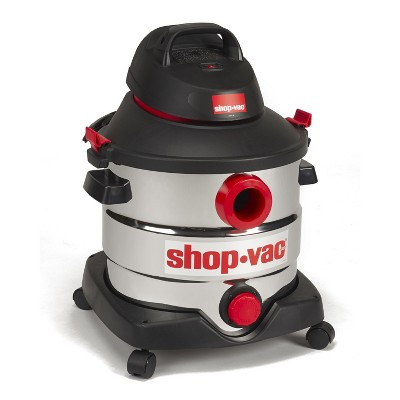 Shop-Vac 8gal 6.0 Peak HP Wet/Dry Vac - Stainless Steel