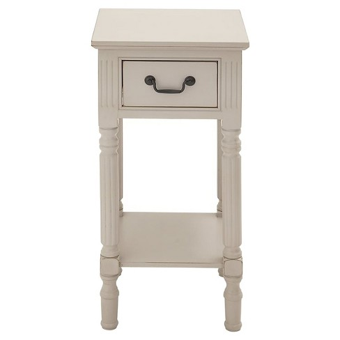 Fascinating Styled Wood Accent Table - image 1 of 1