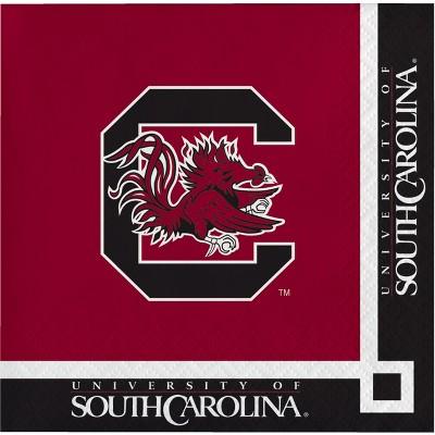 20ct South Carolina Gamecocks Beverage Napkins