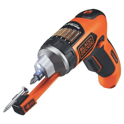 BLACK+DECKER 4V Smart Select Max Lithium Rechargeable Screwdriver Power Tool Sets