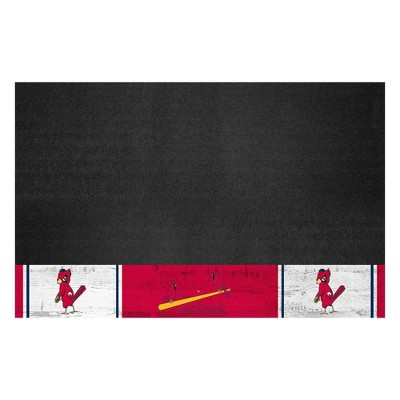"""MLB St. Louis Cardinals 1950 Retro Collection 26""""x42"""" Grill Mat"""