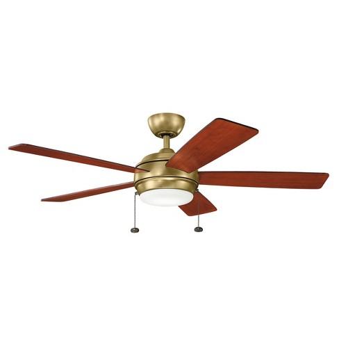 "Kichler 330174 Starkk 52"" 5 Blade Ceiling Fan - image 1 of 2"