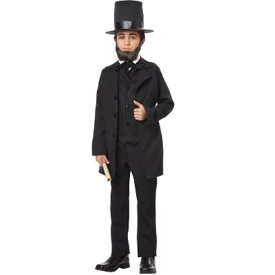 California Costumes Abraham Lincoln Child Costume, Medium