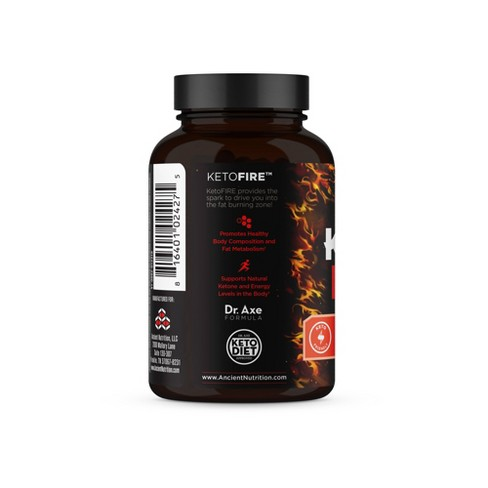Ancient Nutrition Ketofire Weight Loss Supplement Capsules 90ct