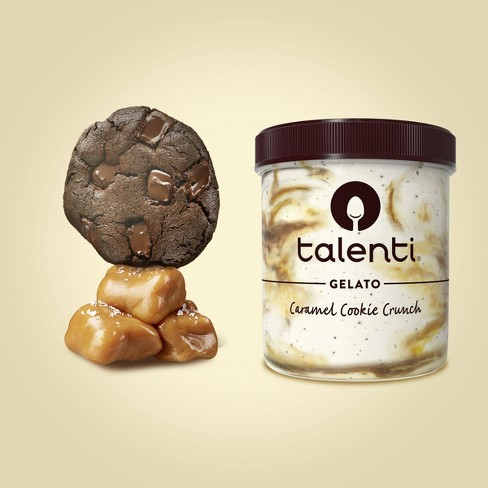 Talenti Caramel Cookie Crunch Gelato - 16oz