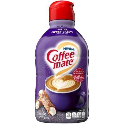 Coffee mate Italian Sweet Crème Coffee Creamer - 0.5gal