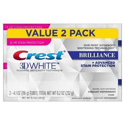 Toothpaste: Crest 3D White Brilliance