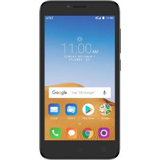 AT&T Prepaid Alcatel TETRA (16GB) Black