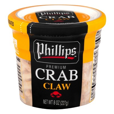 Phillips Claw Crab Meat - 8oz