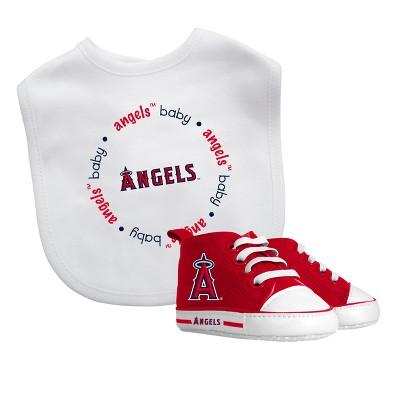 Los Angeles Angels Bib & Prewalker Gift Set