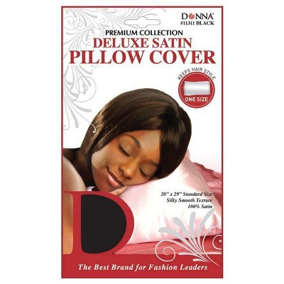 Donna Deluxe Satin Pillow Cover