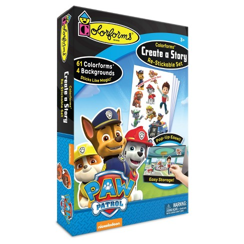 Colorforms Create a Story Paw Patrol Re-Stickable Playset - image 1 of 2