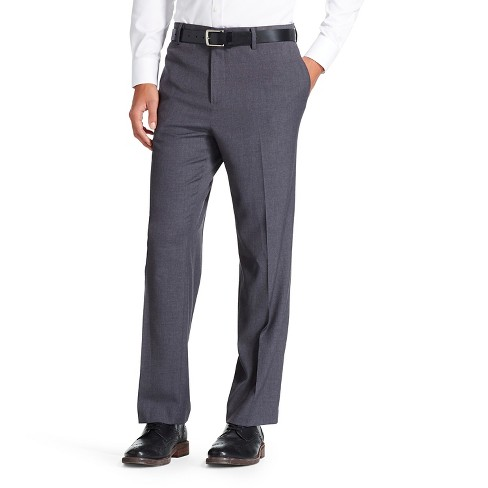 Men's Suit Pants Gray 34x32 - Mossimo™ - image 1 of 2