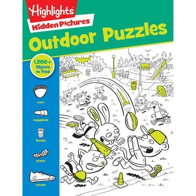 Highlights Outdoor Puzzles (Paperback)