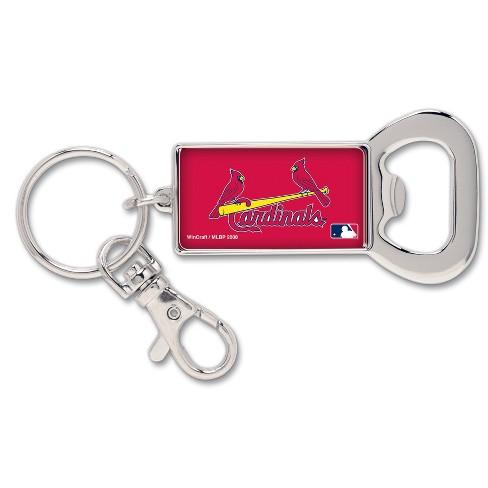 MLB St. Louis Cardinals Bottle Opener Keychain Lanyard - image 1 of 1