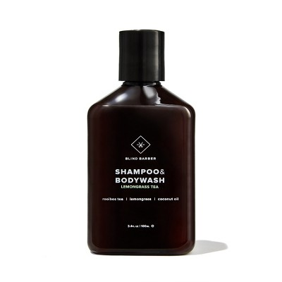 Blind Barber Shampoo & Bodywash - Trial Size - 3.4 fl oz