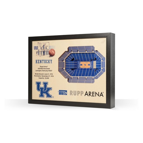NCAA Kentucky Wildcats 25 Layer Stadiumviews 3D Wall Art - image 1 of 4