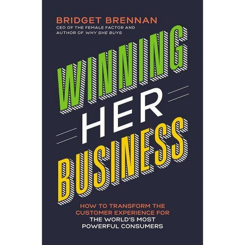 Winning Her Business - by  Bridget Brennan (Hardcover) - image 1 of 1