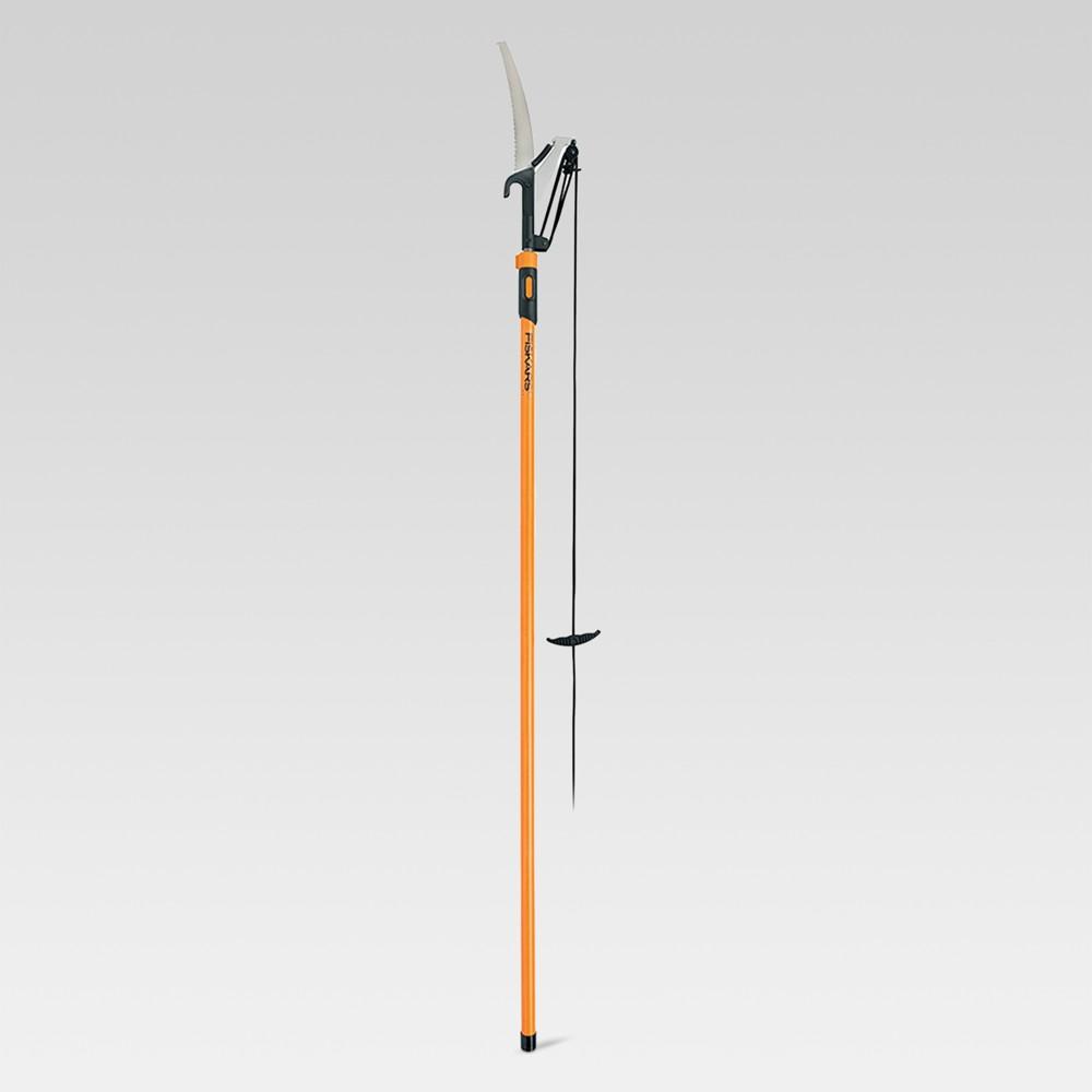 Fiskars Extendable Pole Saw & Pruner (7'-12'), Multi-Colored
