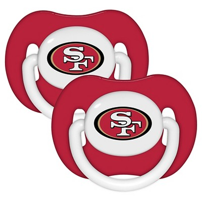 San Francisco 49ers Baby Fanatic Pacifiers - 2 Pack