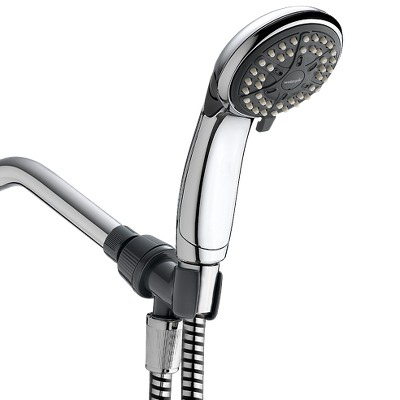 4 Mode Single Shower head Eco Flow Hand Held Chrome - Waterpik