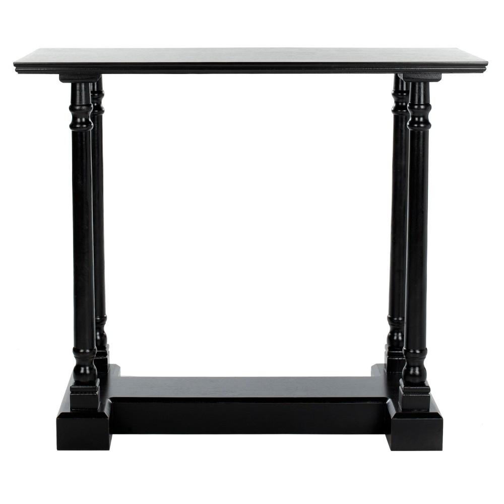 Regan Console Table -Black - Safavieh, Black