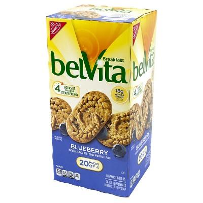 belVita Blueberry Breakfast Biscuits - 20ct