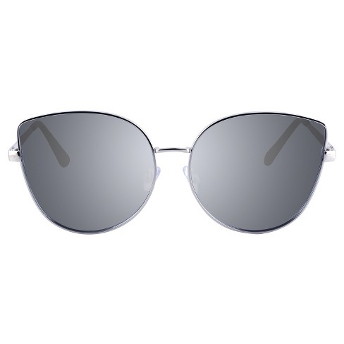 faa7618a670 Women s Oversized Cateye Sunglasses - Silver - image 1 ...