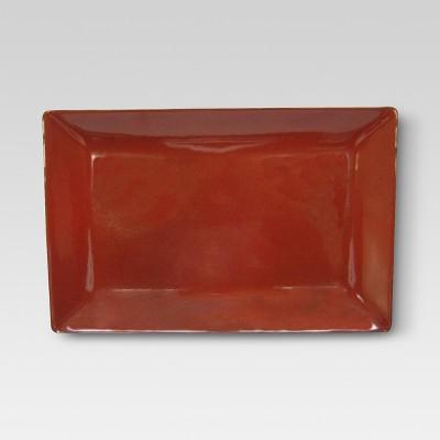 Serving Platter - Poppy - Threshold™