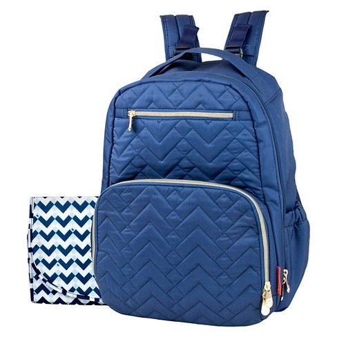 Fisher Price Morgan Quilted Diaper Backpack