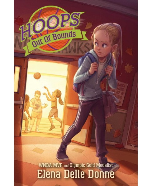 Out of Bounds -  (Hoops) by Elena Delle Donne (Hardcover) - image 1 of 1