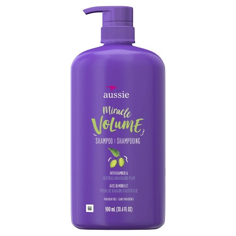 Aussie Paraben-Free Miracle Volume Shampoo with Plum & Bamboo For Fine Hair - 30.4 fl oz - image 1 of 3