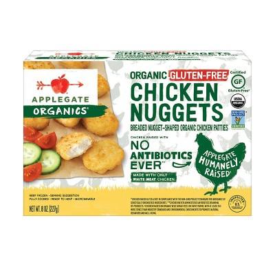 Applegate Organics Organic Gluten Free Chicken Nuggets - Frozen - 8oz