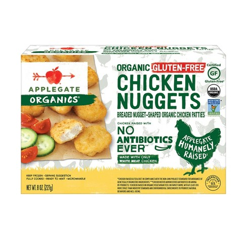 Applegate Organics Organic Gluten Free Chicken Nuggets - Frozen - 8oz - image 1 of 4