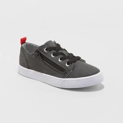 Kids' Lucian Double Zipper Apparel Sneakers - Cat & Jack™