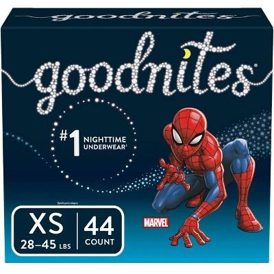 GoodNites Boys' NightTime Underwear Giga Pack - Size XS (44ct)