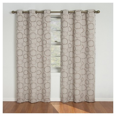Thermaback Meridian Blackout Curtain Panel - Eclipse