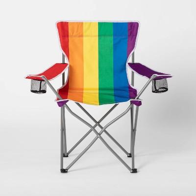 Rainbow Portable Outdoor Chair - Pride