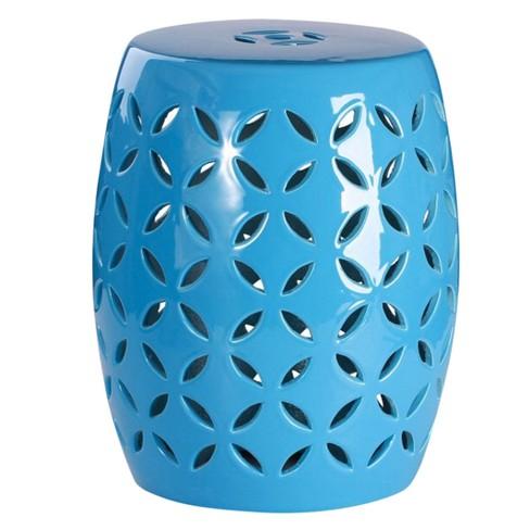 albony ceramic garden stool abbyson living - Ceramic Garden Stool