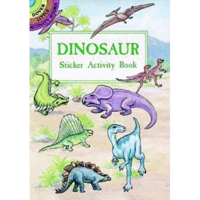 Dinosaur Sticker Activity Book - (Dover Little Activity Books Stickers) by  A G Smith (Paperback)