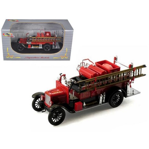 1926 Ford Model T Fire Engine Red/Black 1/32 Diecast Model Car by Signature Models - image 1 of 1