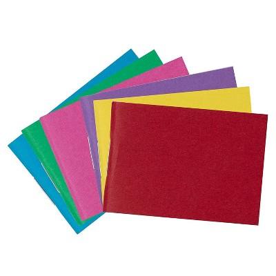 Paper Junkie 24-Pack Mini Blank Paperback Journal Notebook Sketchbook (6 Colors, 1.55 x 2.2 in, 32 Sheets)