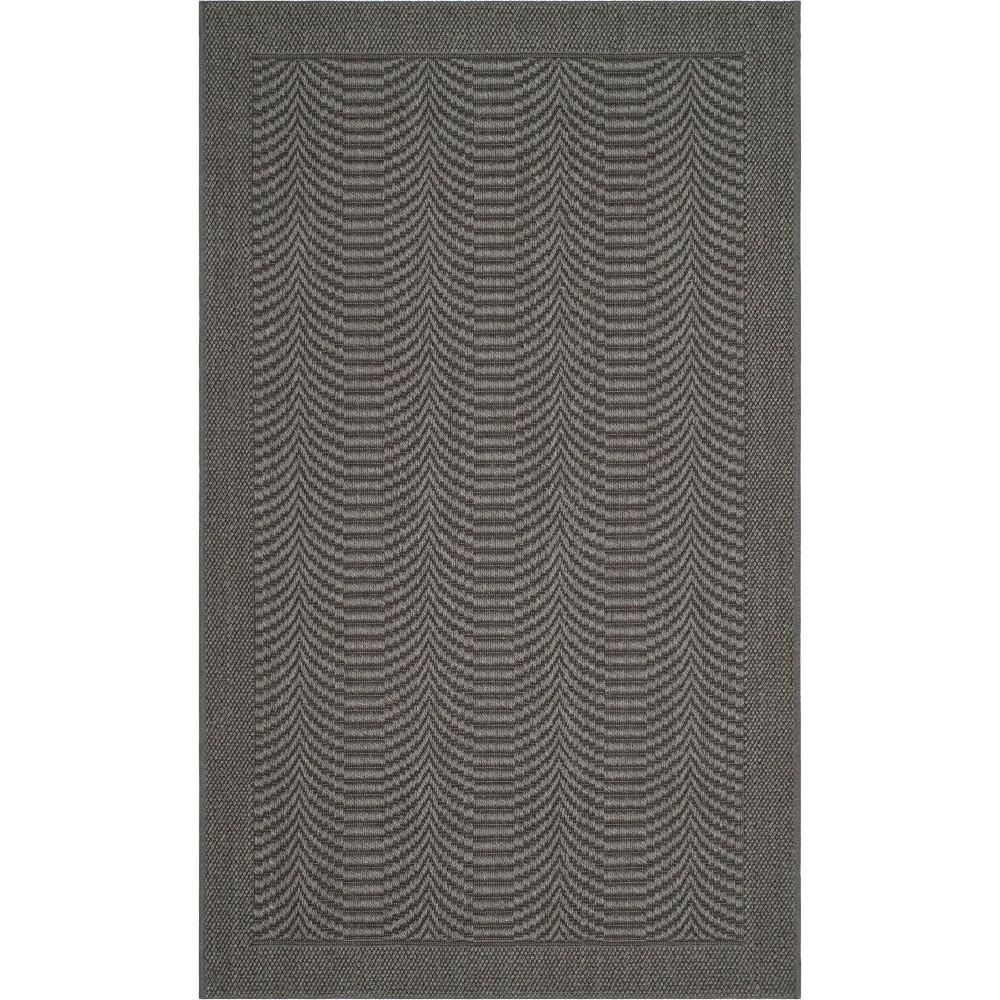 4'X6' Solid Loomed Area Rug Ash/Light Gray (Grey/Light Gray) - Safavieh